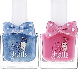 Fragrances, Perfumes, Cosmetics Kids Nail Polish Set 2x10, 5 ml - Snails Mini Bebe Dream Big