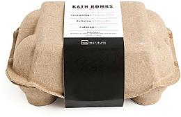 Fragrances, Perfumes, Cosmetics Bath Bomb Set - IDC Institute Pure Energy Bath Bombs Lavender & Passion Fruit & Lotus (6x70g)