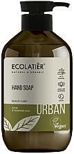 "Fragrances, Perfumes, Cosmetics Hand Liquid Soap ""Aloe and Almond Milk"" - Ecolatier Urban Liquid Soap"