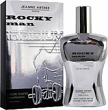 Fragrances, Perfumes, Cosmetics Jeanne Arthes Rocky Man Irridium - Eau de Toilette