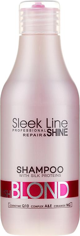 Hair Shampoo - Stapiz Sleek Line Blush Blond Shampoo