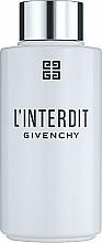 Fragrances, Perfumes, Cosmetics Givenchy L'Interdit - Bath & Shower Oil