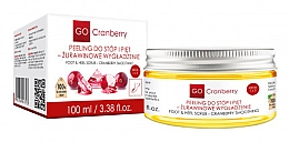 Fragrances, Perfumes, Cosmetics Foot & Heel Scrub - GoCranberry Cranberry Smoothing Foot & Heel Scrub