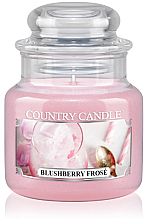 Fragrances, Perfumes, Cosmetics Scented Candle (jar) - Country Candle Blushberry Frosé