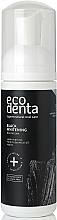 Fragrances, Perfumes, Cosmetics Mouthfoam - Ecodenta Black Whitening Mouthfoam