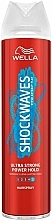 Fragrances, Perfumes, Cosmetics Ultra Strong Hold Hair Spray - Wella Shockwaves Ultra Strong Power Hold Spray
