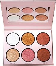 Fragrances, Perfumes, Cosmetics Highlighter Palette - LP Makeup L'Essentiel Paper Highlight Palette