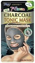 Fragrances, Perfumes, Cosmetics Facial Charcoal Sheet Mask - 7th Heaven Charcoal Tonic Sheet Mask
