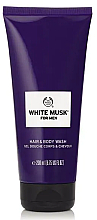 Fragrances, Perfumes, Cosmetics Shower Gel-Shampoo - The Body Shop White Musk for Men Hair & Body Wash