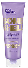 Fragrances, Perfumes, Cosmetics Anti-Yellow Conditioner - Phil Smith Be Gorgeous Bombshell Tone Enhancing Conditioner