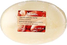 Fragrances, Perfumes, Cosmetics Argon & Coconut Oils Soap - Melvita Extra-Rich Soap