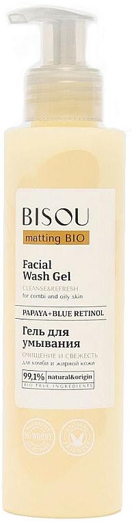 Cleanse & Refresh Facial Wash Gel - Bisou Matting Bio Facial Wash Gel