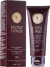 Fragrances, Perfumes, Cosmetics Tinted Self-Taning Gel - Academie Bronz'Express Gel
