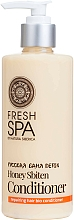 Fragrances, Perfumes, Cosmetics Hair Bio Conditioner - Natura Siberica Fresh Spa Russkaja Bania Detox Natural Repairing Hair Conditioner Honey Sbiten