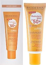 Fragrances, Perfumes, Cosmetics Sun Tone Emulsion - Bioderma Photoderm Max Spf 50+ Ultra-Fluide Teinte