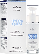 Fragrances, Perfumes, Cosmetics Deeply Moisturizing Day and Night Face Serum - Farmona Hydra Quest Serum