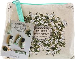 Fragrances, Perfumes, Cosmetics Set - Panier Des Sens Travel Set Jasmine (h/cr/50ml + sh/gel/50ml + b/lot/50ml + edt/3.5ml)