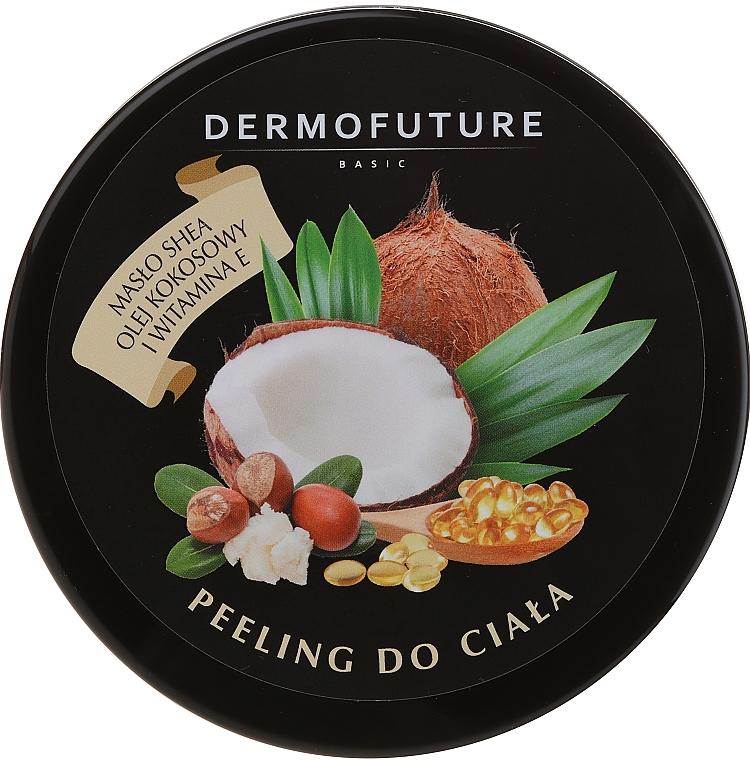 Sugar Body Scrub with Shea Butter & Coconut Oil - DermoFuture Sugar Body Scrub