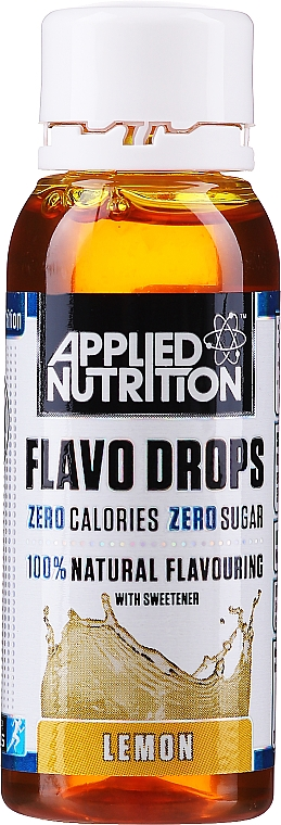 "Natural Food Flavouring ""Lemon"" - Applied Nutrition Flavo Drops Lemon — photo N1"