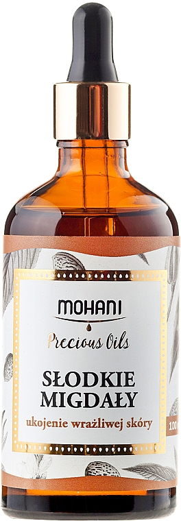 Natural Sweet Almond Oil - Mohani Sweet Almonds Oil