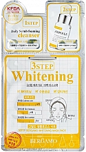 Fragrances, Perfumes, Cosmetics 3-Step Face Mask - Bergamo 3-Step Whitening Mask Pack