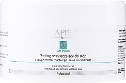 Fragrances, Perfumes, Cosmetics Cleansing Foot Peeling - Apis Professional Api-Podo