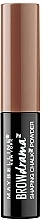 Fragrances, Perfumes, Cosmetics Brow Powder - Maybelline Brow Drama Shaping Chalk Powder