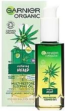 Fragrances, Perfumes, Cosmetics Night Face Oil - Garnier BIO Repairing Hemp
