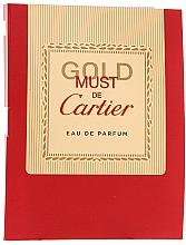 Fragrances, Perfumes, Cosmetics Cartier Must de Cartier Gold - Eau de Parfum (sample)