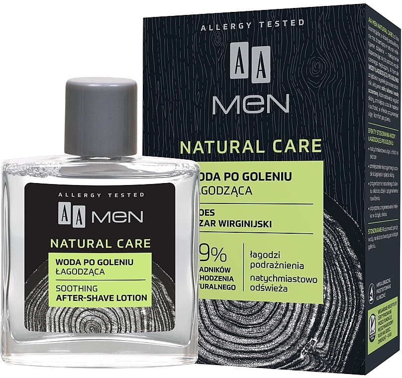 After Shave Lotion - AA Men Natural Care Sooting After-Shave Lotion