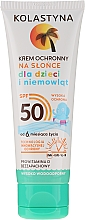 Fragrances, Perfumes, Cosmetics Kids Protective Waterproof Cream SPF 50 - Kolastyna