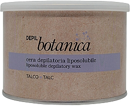 Fragrances, Perfumes, Cosmetics Depilatory Wax in Jar - Trico Botanica Depil Botanica Talc