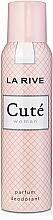 Fragrances, Perfumes, Cosmetics La Rive Cute Woman - Deodorant