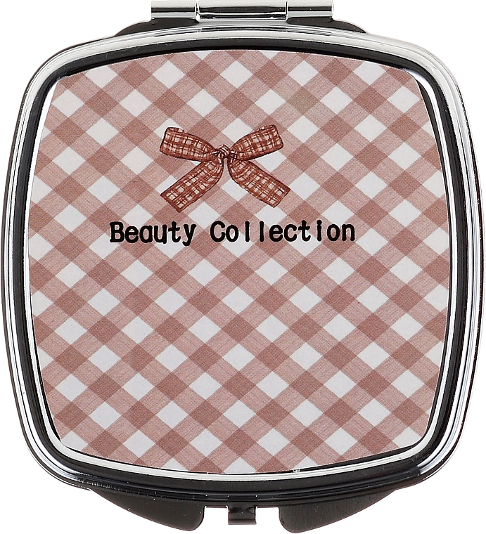 Square Mirror 85635, checkered - Top Choice Beauty Collection Mirror #6