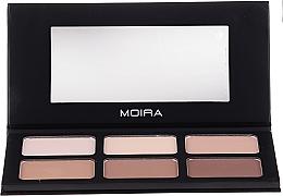 Fragrances, Perfumes, Cosmetics Face Contouring Palette - Moira Highlight & Contour Palette