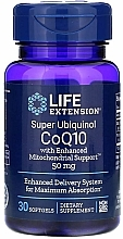 """Fragrances, Perfumes, Cosmetics Dietary Supplement """"Coenzyme Q10"""", 50mg - Life Extension Super Ubiquinol CoQ10 with Enhanced Mitochondrial Support"""