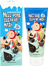 Fragrances, Perfumes, Cosmetics Cleansing Pore Pell-Off Mask - Elizavecca Face Care Hell-Pore Clean Up Mask
