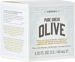 Fragrances, Perfumes, Cosmetics Moisturizing Day Cream with Mattifying Effect - Korres Pure Greek Olive Day Cream