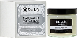 """Fragrances, Perfumes, Cosmetics Scented Candle """"Chocolate"""" - Eco Life Candles"""