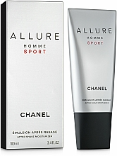 Fragrances, Perfumes, Cosmetics Chanel Allure homme Sport - After Shave Emulsion