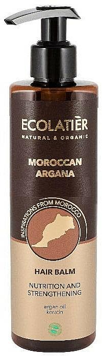 """Conditioner """"Moroccan Argan"""" - Ecolatier Moroccan Argana Hair Balm"""