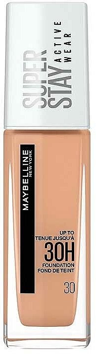 Long-Lasting Foundation - Maybelline New York Super Stay 30H Active Wear