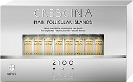 Fragrances, Perfumes, Cosmetics Men Hair Growth Stimulating Lotion 2100 - Crescina Hair Follicular Island 2100 Man