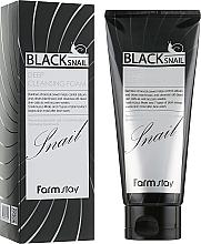 Fragrances, Perfumes, Cosmetics Facial Black Snail Mucin Foam - FarmStay Black Snail Deep Cleansing Foam