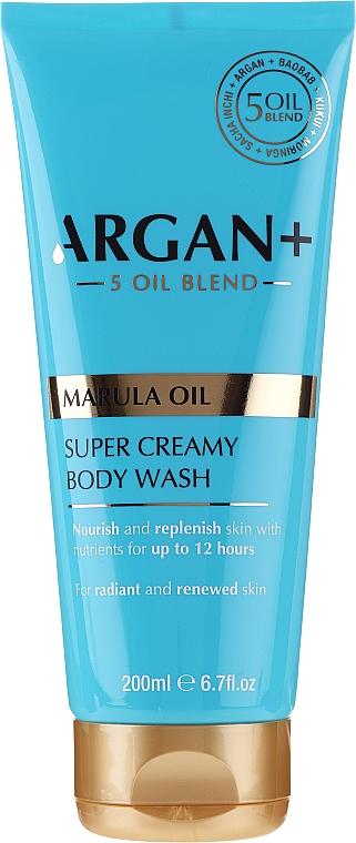 Shower Cream-Gel - Argan+ Super Creamy Body Wash