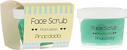 Fragrances, Perfumes, Cosmetics Face & Lip Moisturizing Scrub - Nacomi Moisturizing Face&Lip Scrub Pinacolada