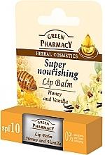 """Fragrances, Perfumes, Cosmetics Lip Balm """"Honey and Vanilla"""" - Green Pharmacy Lip Balm With Honey And Vanilla"""