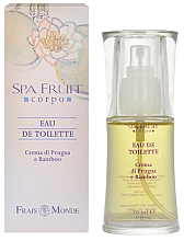 Fragrances, Perfumes, Cosmetics Frais Monde Spa Fruit Plum And Bamboo - Eau de Toilette