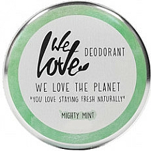 "Fragrances, Perfumes, Cosmetics Natural Creamy Deodorant ""Mint"" - We Love The Planet Mighty Mint Cream Deodorant"