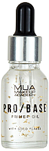 Fragrances, Perfumes, Cosmetics Face Primer with Golden Flakes - Mua Pro/ Base Primer Oil With Gold Flakes